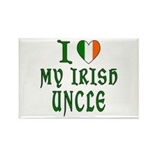 I Love My Irish Uncle Rectangle Magnet (100 pack)