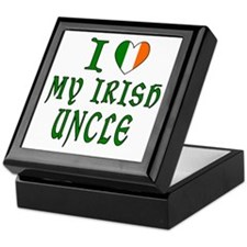 I Love My Irish Uncle Keepsake Box