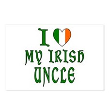 I Love My Irish Uncle Postcards (Package of 8)