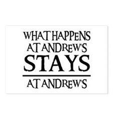 STAYS AT ANDREW'S Postcards (Package of 8)