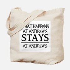 STAYS AT ANDREW'S Tote Bag