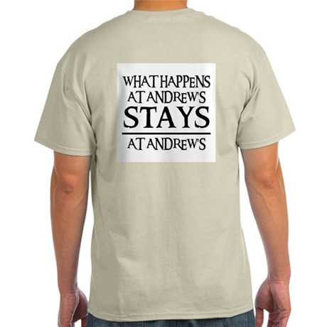 STAYS AT ANDREW'S Light T-Shirt