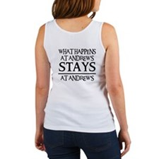 STAYS AT ANDREW'S Women's Tank Top