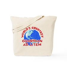 World's Greatest Guard.. (F) Tote Bag