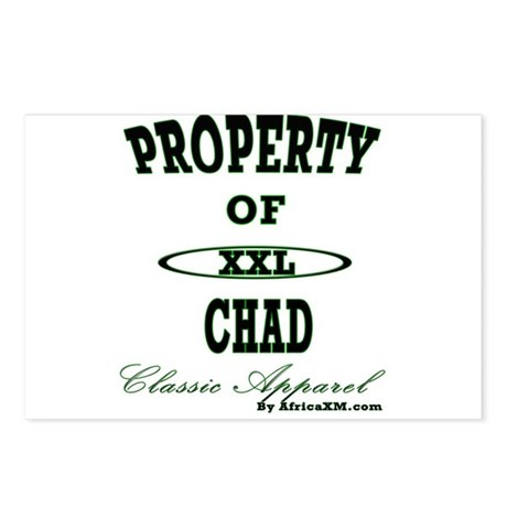 Property Of Chad Classic Postcards (Package of 8)