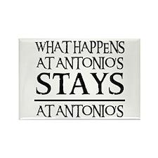 STAYS AT ANTONIO'S Rectangle Magnet