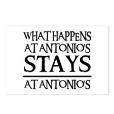STAYS AT ANTONIO'S Postcards (Package of 8)
