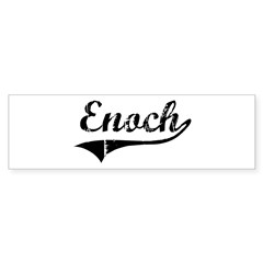 Enoch (vintage) Bumper Bumper Sticker