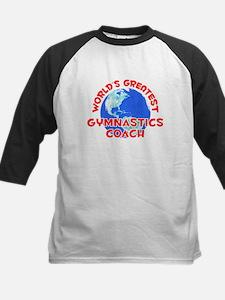 World's Greatest Gymna.. (F) Kids Baseball Jersey