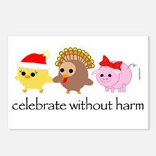 Celebrate Without Harm Postcards (Package of 8)