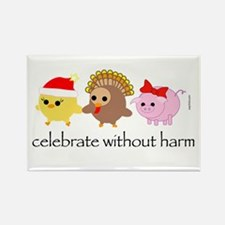 Celebrate Without Harm Rectangle Magnet