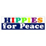 Hippies for Peace (bumper sticker)