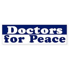 Doctors for Peace (bumper sticker)