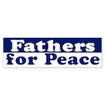Fathers for Peace (bumper sticker)
