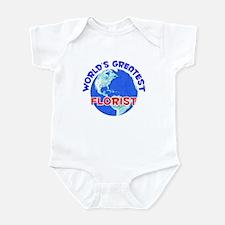 World's Greatest Florist (E) Infant Bodysuit