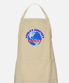 World's Greatest Florist (E) BBQ Apron