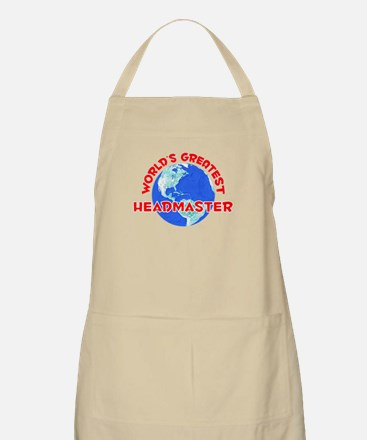 World's Greatest Headm.. (F) BBQ Apron