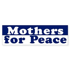 Mothers for Peace (bumper sticker)