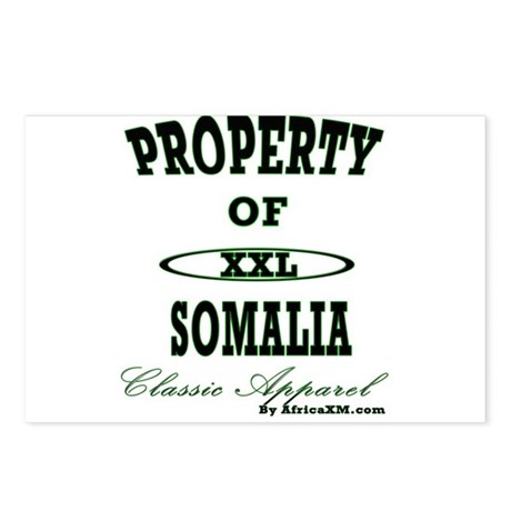 Property Of Somalia Classic Postcards (Package of