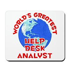 World's Greatest Help .. (F) Mousepad