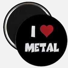 I Love Metal Magnet