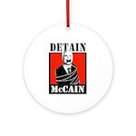 Anti-McCain Ornament (Round)