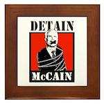 Anti-McCain Framed Tile