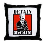 Anti-McCain Throw Pillow