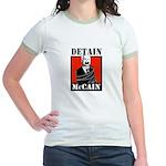 Anti-McCain Jr. Ringer T-Shirt