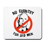 Anti-Mccain / No Country for Old Men Mousepad