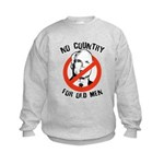 Anti-Mccain / No Country for Old Men Kids Sweatshi