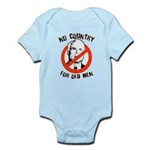 Anti-Mccain / No Country for Old Men Infant Bodysu