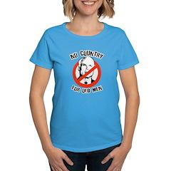 Anti-Mccain / No Country for Old Men Women's Dark