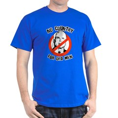 Anti-Mccain / No Country for Old Men T-Shirt