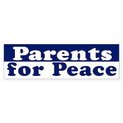 Parents for Peace (bumper sticker)