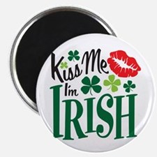 Kiss Me I'm Irish Magnet
