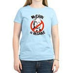 McCain is insane Women's Light T-Shirt