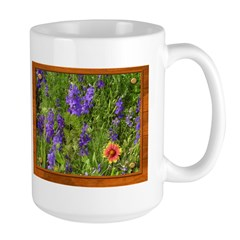 Wildflowers #1 Large Mug