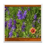 Wildflowers #1 Tile Coaster
