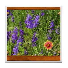 Wildflowers #1 Tile Coaster