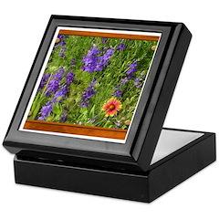 Wildflowers #1 Keepsake Box