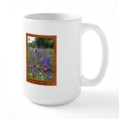 Wildflowers #2 Large Mug