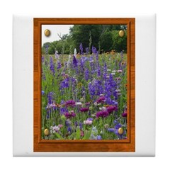 Wildflowers #2 Tile Coaster