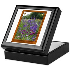 Wildflowers #2 Keepsake Box
