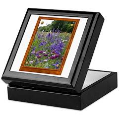 Wildflowers #2 Keepsake Box