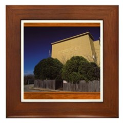 Weatherford Drive In Theater Framed Tile
