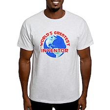 World's Greatest Inven.. (F) T-Shirt
