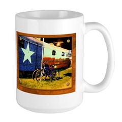 Texas Train Large Mug