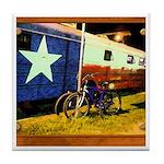 Texas Train Tile Coaster