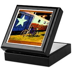 Texas Train Keepsake Box